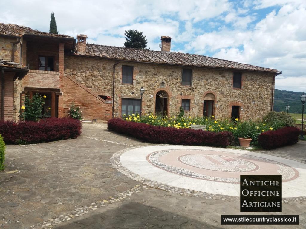 Ristrutturazione rustico Borgo Riserva di Fivizzano Castellina in chianti Antiche Officine Artigiane