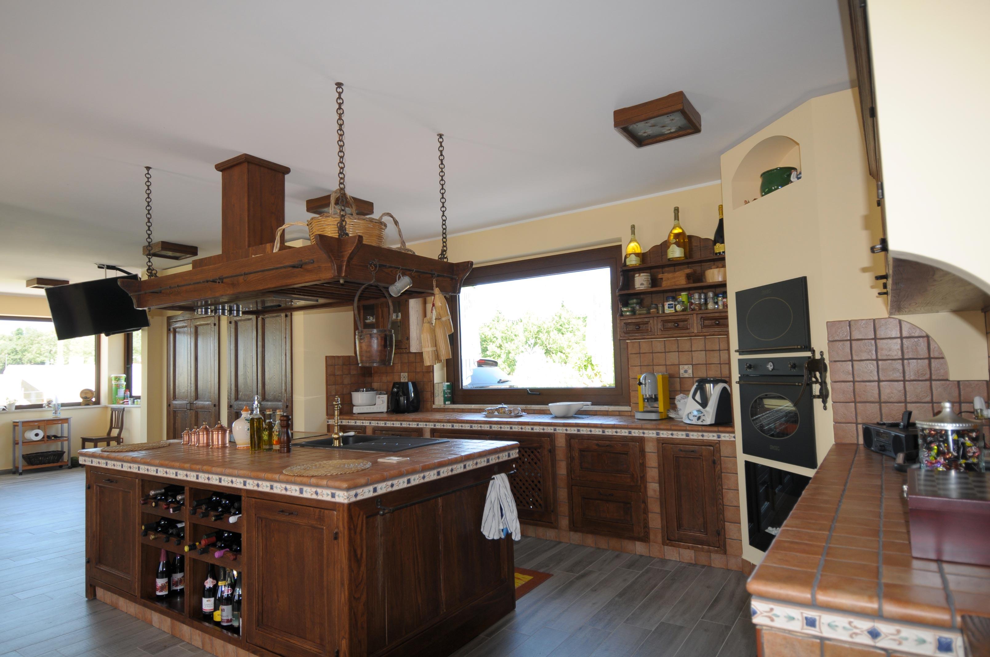 Piano Cottura In Muratura cucine in muratura - progettazioni, ristrutturazioni e