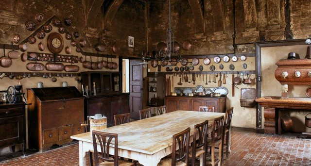 Progettazione E Realizzazione Antiche Cucine Rustiche