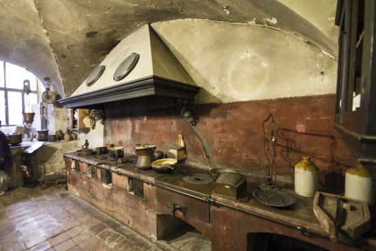 Antica cucina in muratura